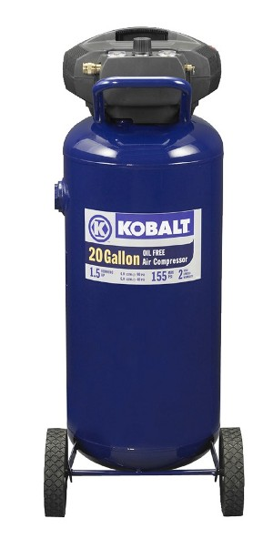 Kobalt 22 gal air compressor